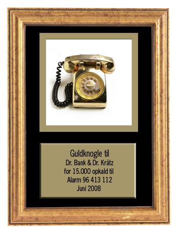 Landsbyhospitalets update service: Guldknogle til Dr. Bank & Dr. Krätz